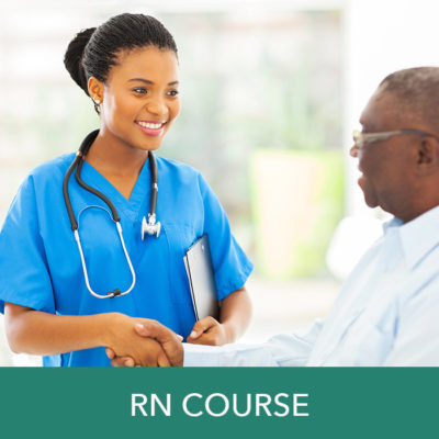 RN wound care certification course for RNs registered nurses